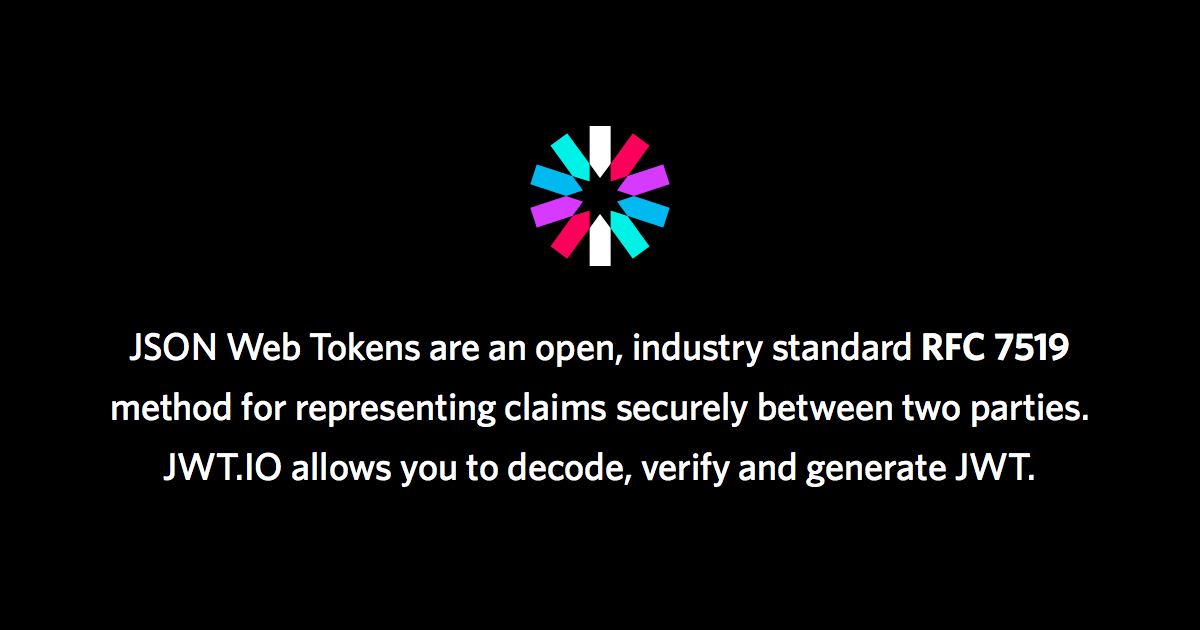 JSON Web Tokens - jwt io