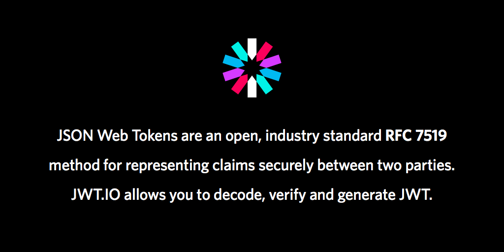 JSON Web Token Introduction - jwt io